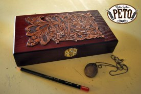 Peto Kustom Leathers jewellery box
